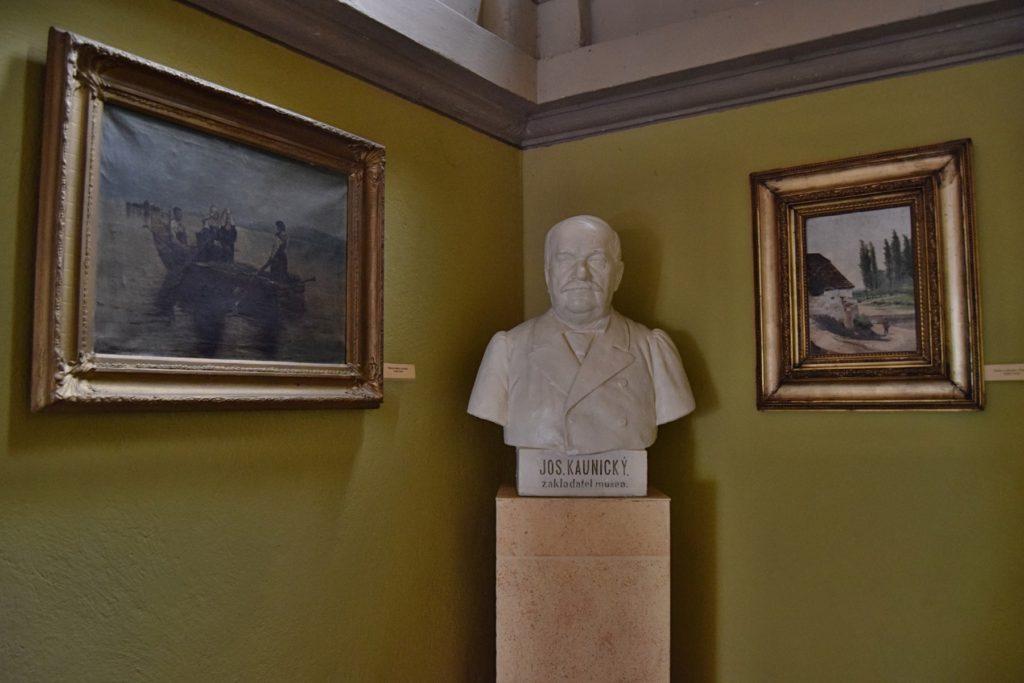 Josef Kaunický - zakladatel muzea
