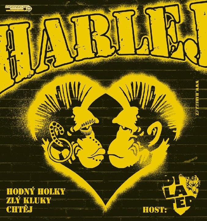 Předprodej na koncert HARLEJ