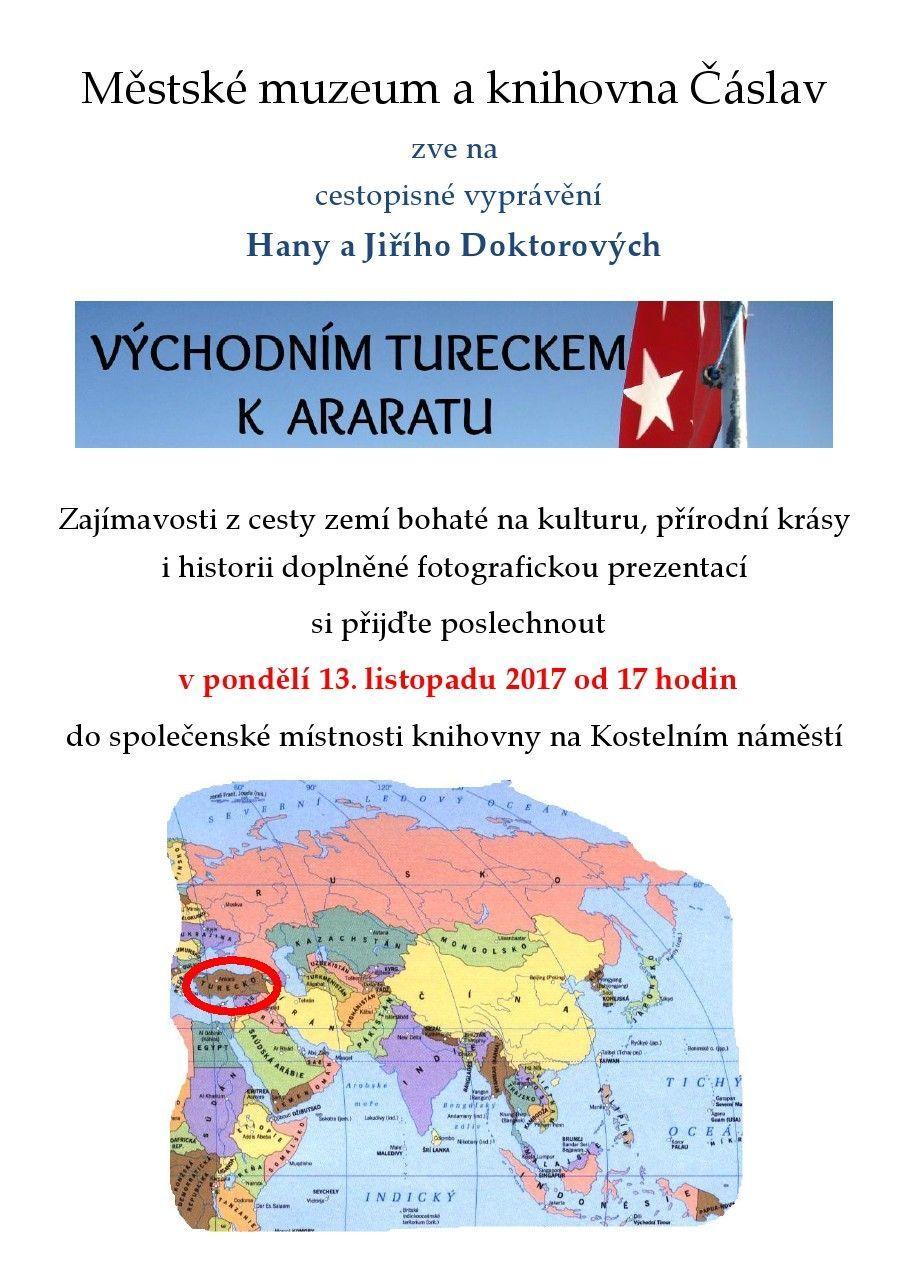 Východním Tureckem k Araratu 13.11.2017