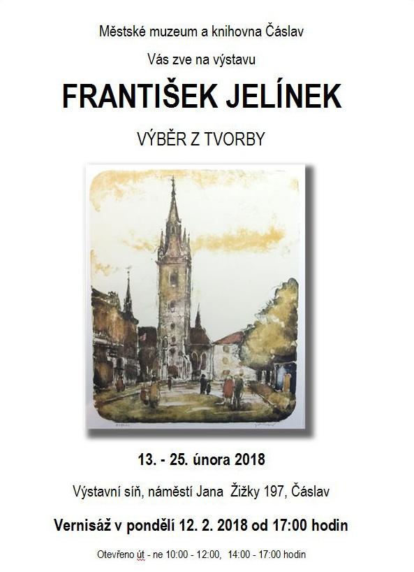 Výstava obrazů Františka Jelínka