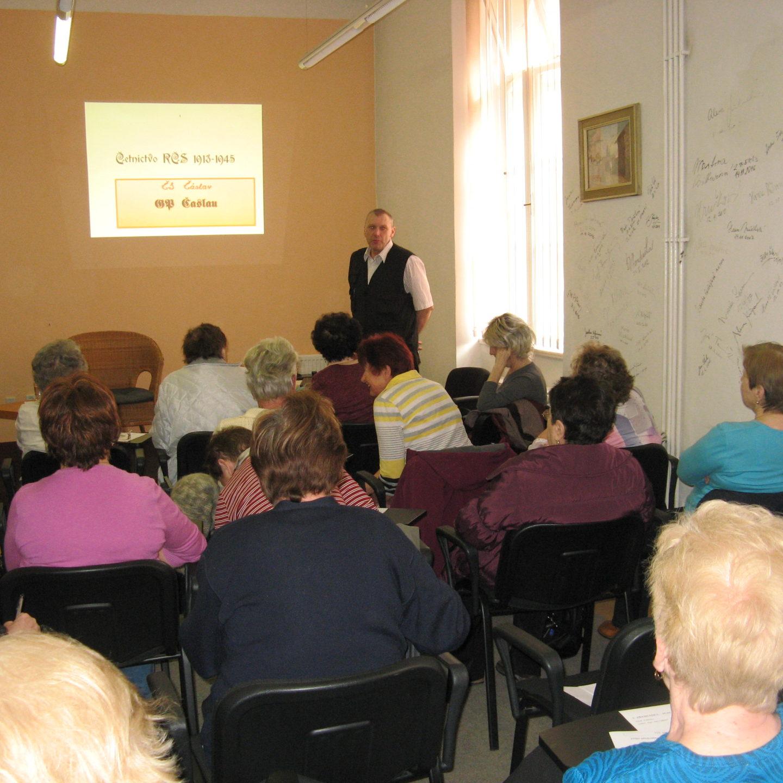 """5.4.2018 přednáška """"Historie četnictva"""""""