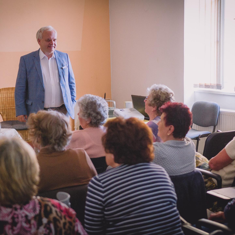 25.4.2019 setkání s europoslancem Pavlem Svobodou