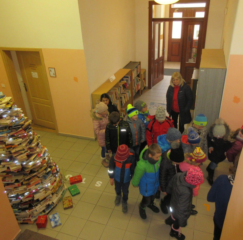 Vánoční čtení – děti ze Základní školy Žižkovo náměstí
