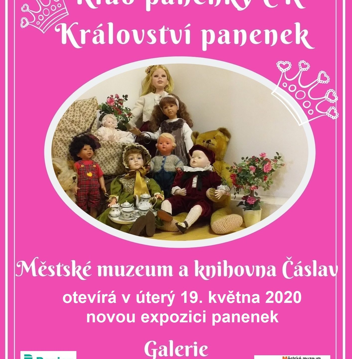 Nová expozice panenek v galerii, Jeníkovská 222