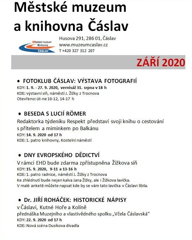 Program září 2020